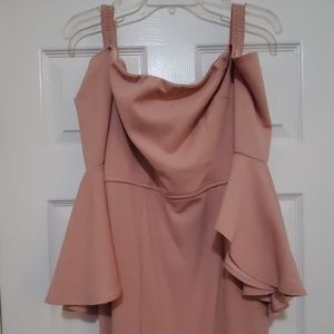 Mauve Pink formal gown